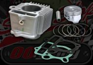 Cylinder kit 52mm Alloy 88cc Flat top piston