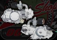 Engine. 125cc. 2 Valve. Loncin. Original style replacement engine. Suitable for Madass