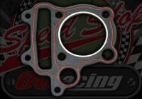 Head gasket 51mm for 3 valve engines 1mm thick
