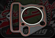 Gasket. Head. 52.4mm. Madass 125. Lifan. 1mm thick