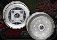Clutch kit. 4 plate. for Z125 HO engines Stock