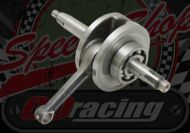 Crank shaft 55.5mm stroke primary clutch complete with main bearings. Suitable for MadAss