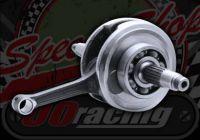 Crank shaft Z155 55mm stroke 13mm pin