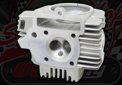 Head. Bare. YX 125cc blank. 23mm inlet valve. 20mm exhaust valve
