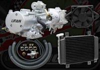 125cc. Engine 2 Valve. Lifan. Liquid Cooled. 4 speed. Semi automatic