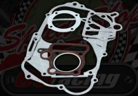 Gasket kit. 110cc and 125cc. 3 Valve. Secondary clutch engines
