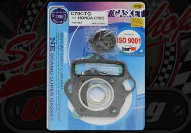 Gasket kit. C70. 90C, E, CUB, MF-MP, CF70 Chaly, XR70R, CR70F Top set. C CDI 12V engine