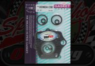 Gasket Kit. C50. Top set. Points.  6 Volt
