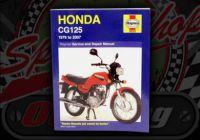 Manual. Honda. CG125. Ideal for the Skyteam ACE 125 engine