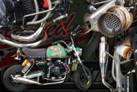 Exhaust stainless High torque performance system suitable for monkey