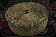 Exhaust wrap Titanium colour 15 meter roll 50mm wide