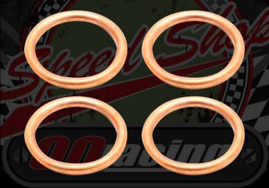 Gasket. Exhaust. 33mm O/D. Pack of 4