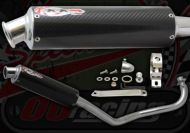 Exhaust. Complete. Japan Works Up Swept 50cc Performance Race System. Carbon or Alloy choice
