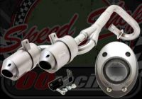 Exhaust. Complete. OORacings very own F2 Performance system. Twin racing system. 28mm for pit bike. CRF50 style frame with Honda port