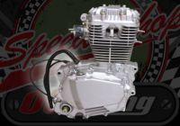 145cc. Engine 2 Valve. 5 speed. Over Head Cam (OHC)