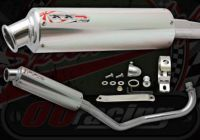 Exhaust. Complete. Japan Works Performance System. Alloy or Carbon choice. Suitable for madass 50cc
