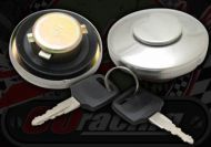 Fuel cap. 34mm. Chromed. Suitable for Monkey