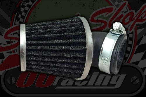 Air filter. 35mm Cone black 45 degrees