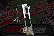 Forks. Springer type with 155mm disc brake conversion damaged.