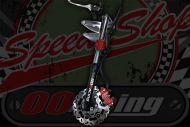 Fork Kit. disc brake Progressive springs with 200mm Floating brake disc Radial brake conversion Monkey