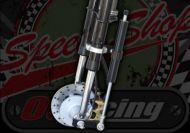 Fork damper kit for springer forks transforms the ride