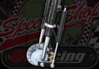 Fork damper kit for springer forks transforms the ride No brackets.