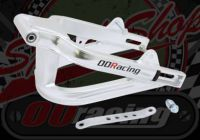 Swing arm. +6. Alloy. Braced. Suitable for use with DAX style bikes