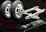 Wheel conversion kit. 10