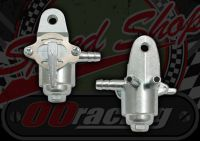 Tap. Fuel. In-line. Silt trap. 5mm hose fitting. 6mm threaded mounting bracket. On/Off/Reserve. High grade item