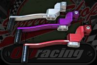 Gear lever CNC 40mm off set adjustable RED, SILVER, PURPLE!