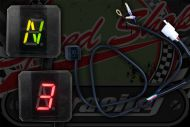 Gear position indicator 12V N-1-2-3-4-5-6