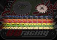 Chain and Sprocket kit. 420 pitch. OORacing. Choice of colour & size. Suitable for use on Monkey bikes