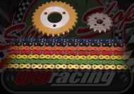Chain and Sprocket kit. 428 pitch. OORacing. Talon. JT. Conversion kit. Choice of colour & size. Suitable for use on Monkey bikes