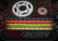 Chain and sprocket kit. 420 pitch. Suitable for DAX ST, Chaly, SS50, PBR. Choice of colours & sizes