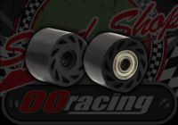 Chain. Protection. Guide. Roller. Dual bearing. 8mm axle. 38mm roller. 25mm wide