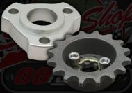 Sprocket. Front. 420 pitch. 17mm spline. Off set 7mm or 15mm. 16T