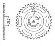 Sprocket. Rear. 420 pitch. 3 bolt. Suitable for monkey. 420 pitch. 23T to 45T