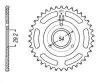 Sprocket. Rear. 420 pitch. 3 bolt. Suitable for monkey. 420 pitch. 23T to 40T