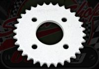 Sprocket. Rear. 420 pitch. 42T. Bolt on style. Suitable for use with DAX