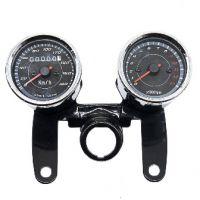 Clocks. Speedo & rev counter on bracket universal with ignition key bracket 67mm bezels