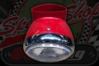 "Head lamp kit DAX 5.5"" including shell for standard 12V speedo"