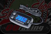 Hour meter Hour meter, BLUE LCD Taco/rev counter