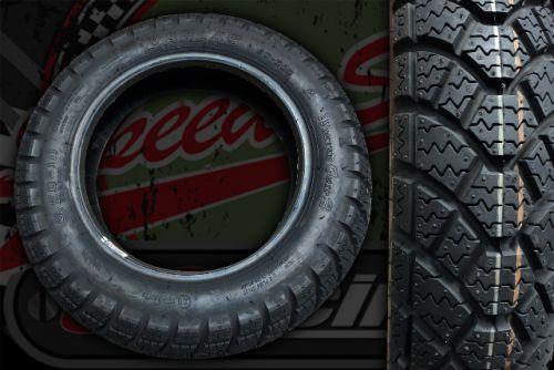 """Tyre. Anlas WINTER GRIP II 3.50 x 10"""""""