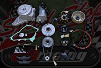Z190 kick start to Electric start conversion kit 3 phase charging.