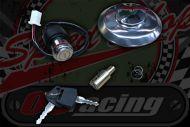 Lock. Set PBR style bikes