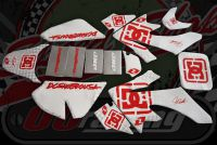 Graphics kit. CRF50. WHITE/RED DC