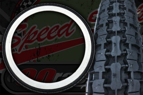 Tyre. White wall Kenda 2.25-17 33L Front