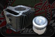 Cylinder & piston kit 47mm standard bore C90 CUB 12V