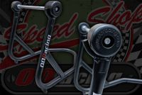 Paddock stand MONKEY & DAX 210mm real axle with bobbins