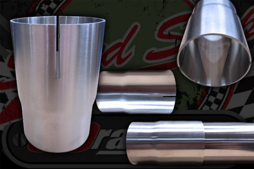 Stainless 304 Exhaust Joiner swaged. Choices on sizes.